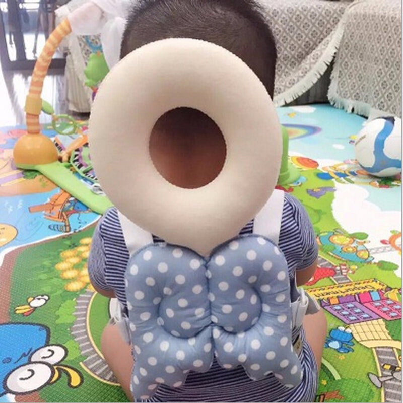 Toddler Head Protector Pillow / Angel Wings / Bee - Go Jingle Bells