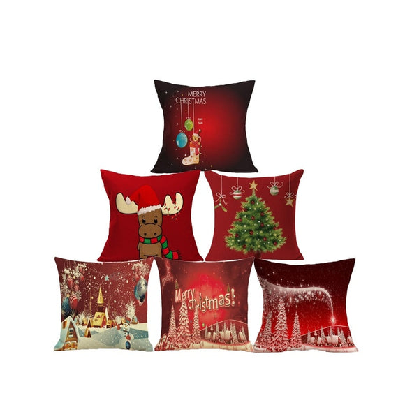Christmas themed - Cushion Covers - Go Jingle Bells