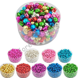 Small Jingle Bells - 6 mm/100 pcs - Christmas Decoration and Free Shipping - Go Jingle Bells