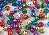 Alloy Jingle bells - Mixed Color for Christmas decoration - 48 pieces - Go Jingle Bells