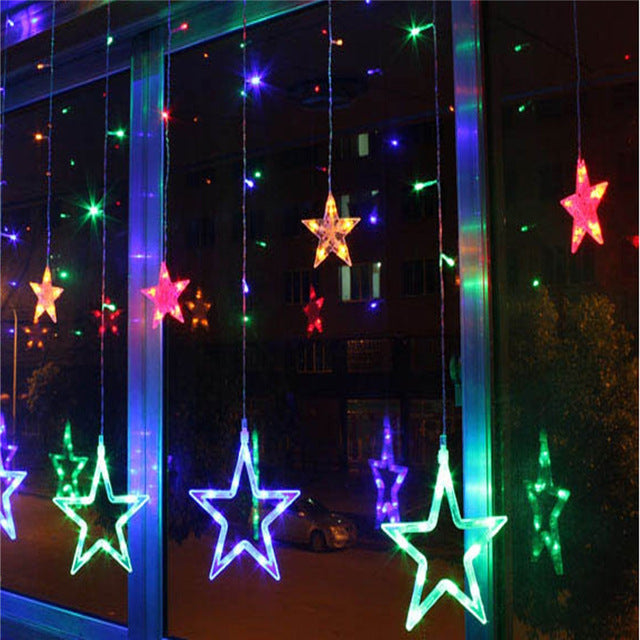 Warm LED Lights for Christmas and New Year Decorations - Go Jingle Bells