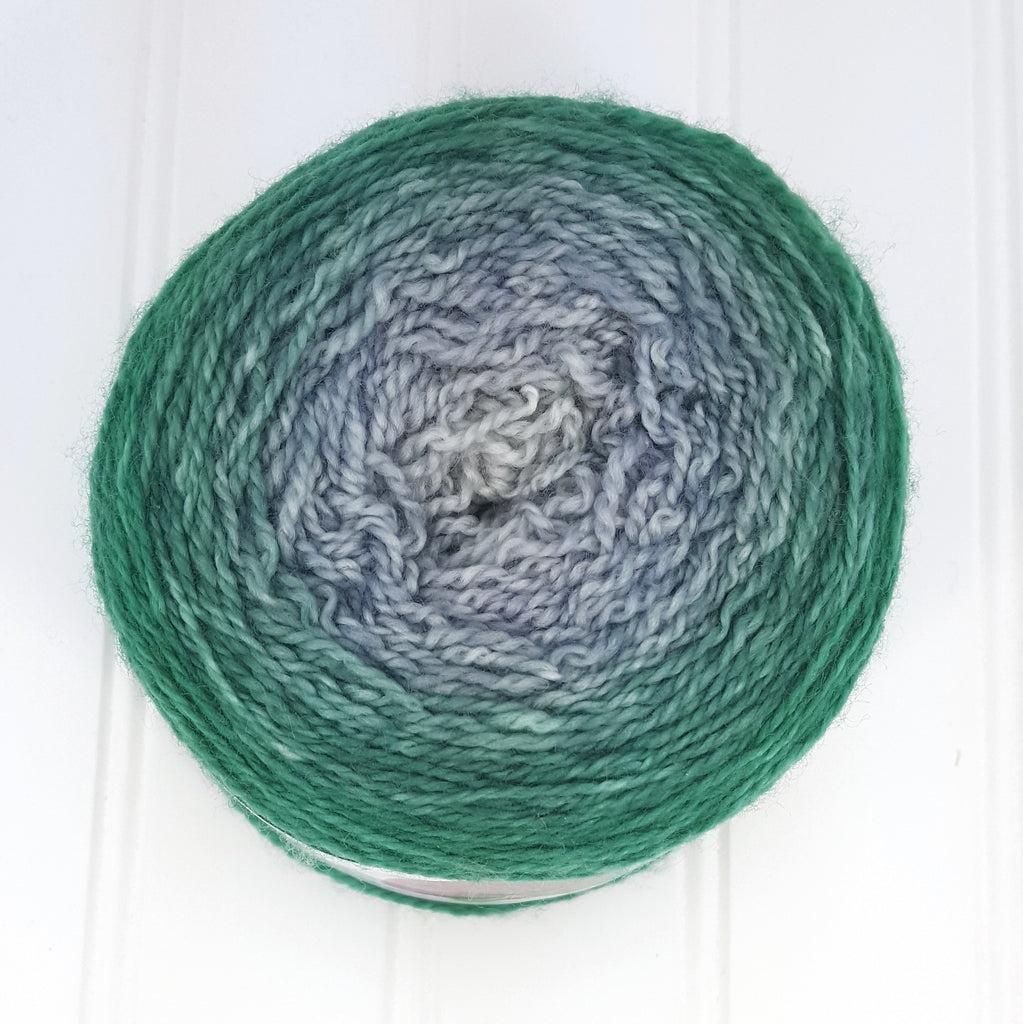 Plush Fingering, 4 oz - Salazar Gradient