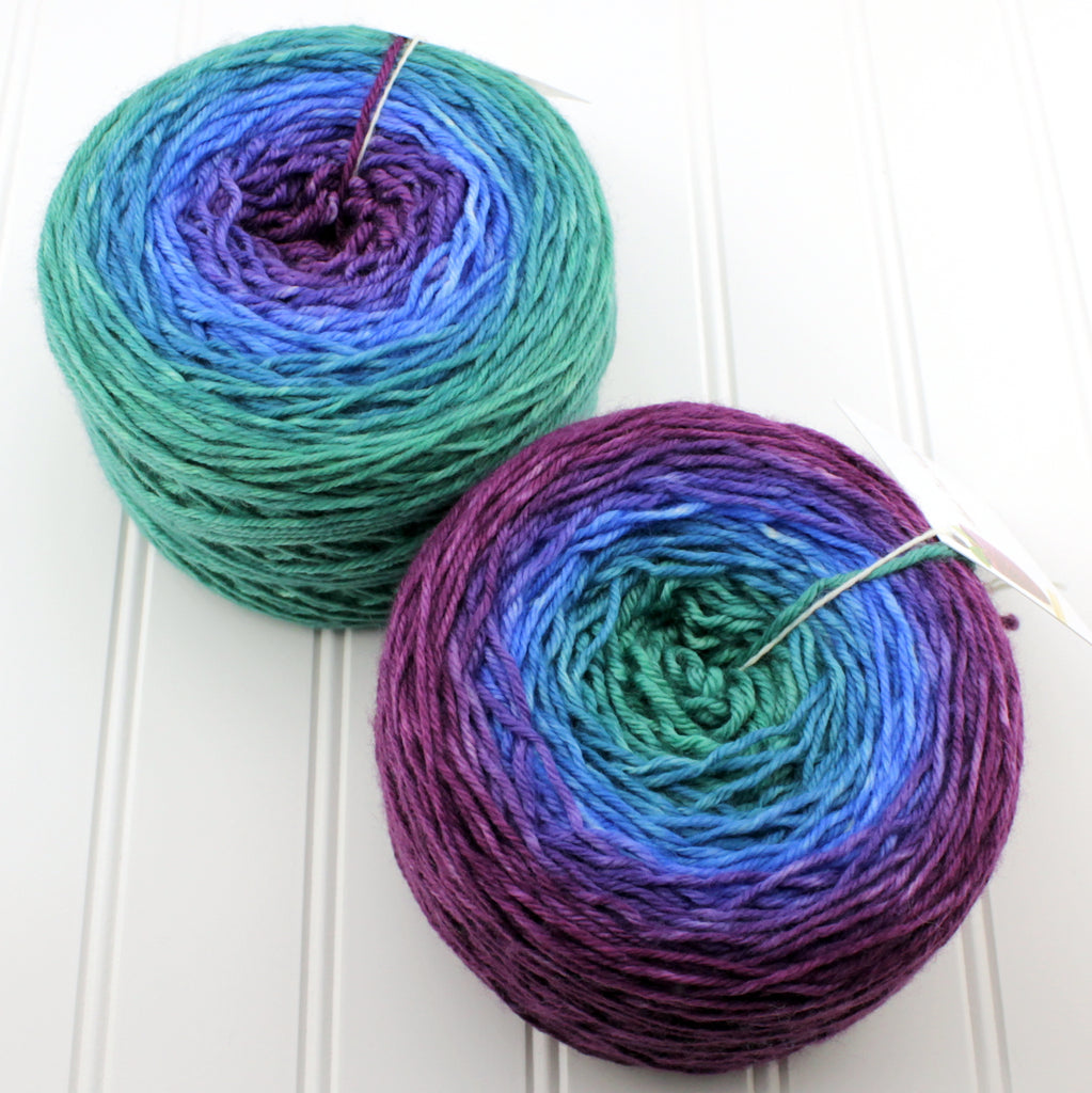 Groovy Fingering Gradients - 3XL (300 g)