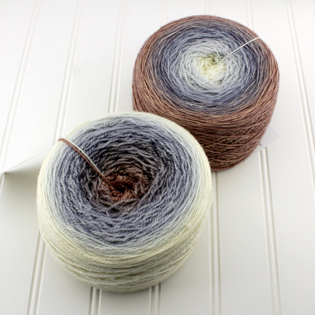 Plush Fingering Gradients - Mini (2 oz)