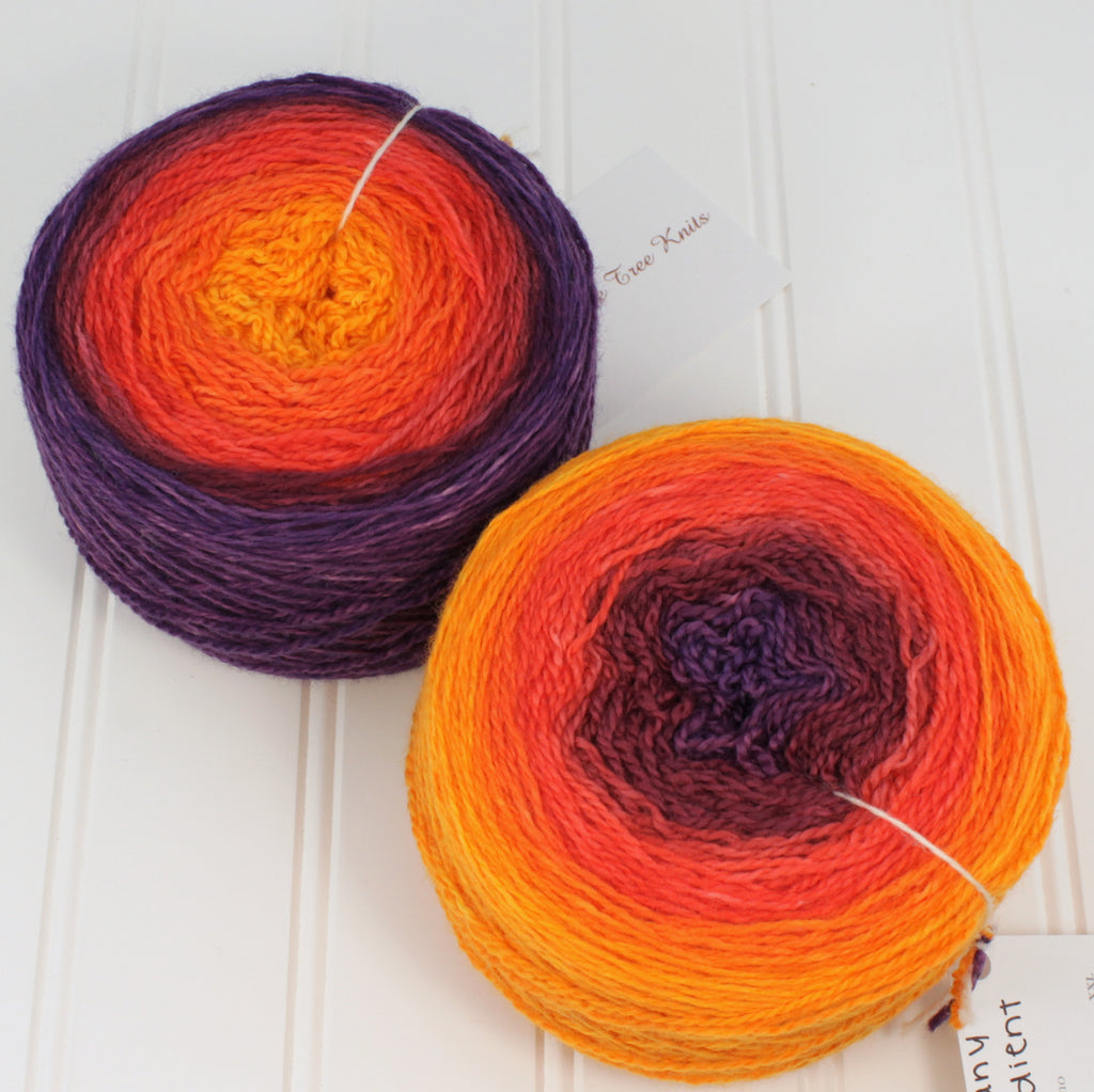 Plush Fingering Gradients - XL (8 oz)