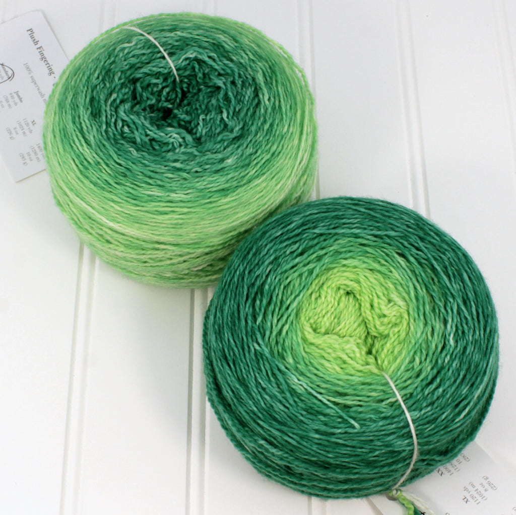 Plush Fingering Gradients - XXL (10 oz)