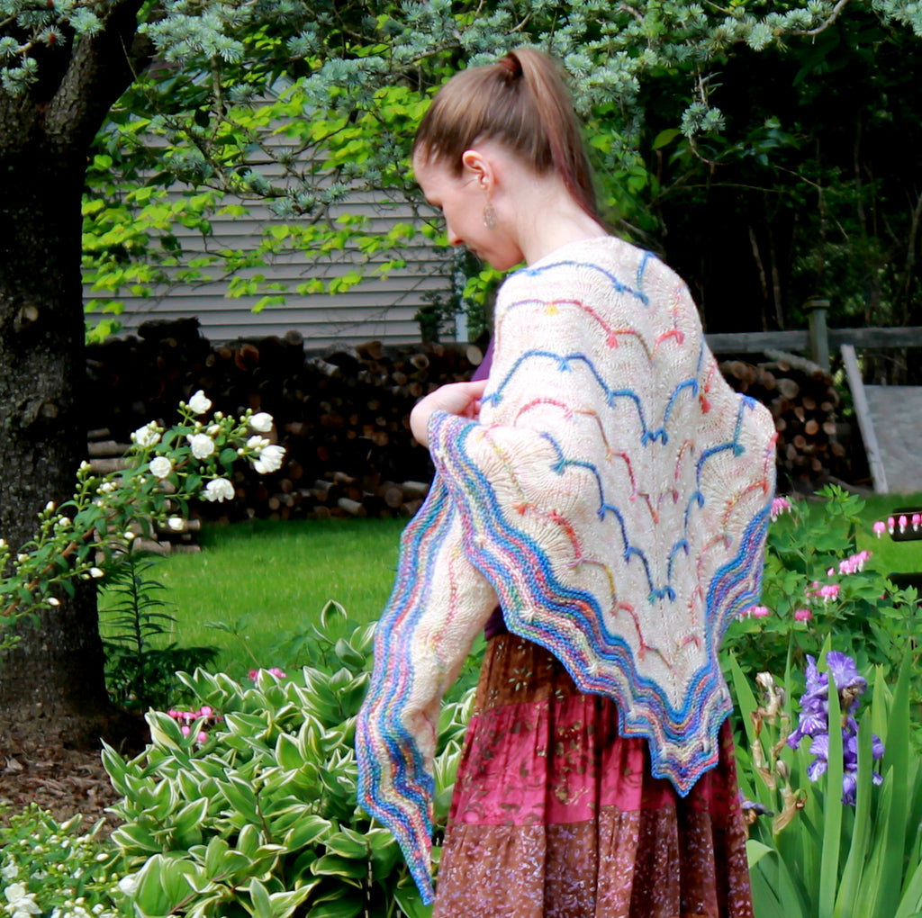 Spark and Flow Shawl - Kit