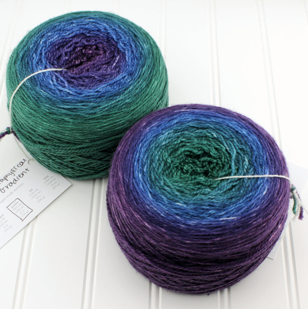 Luxe Fingering Gradients - XL (8 oz)