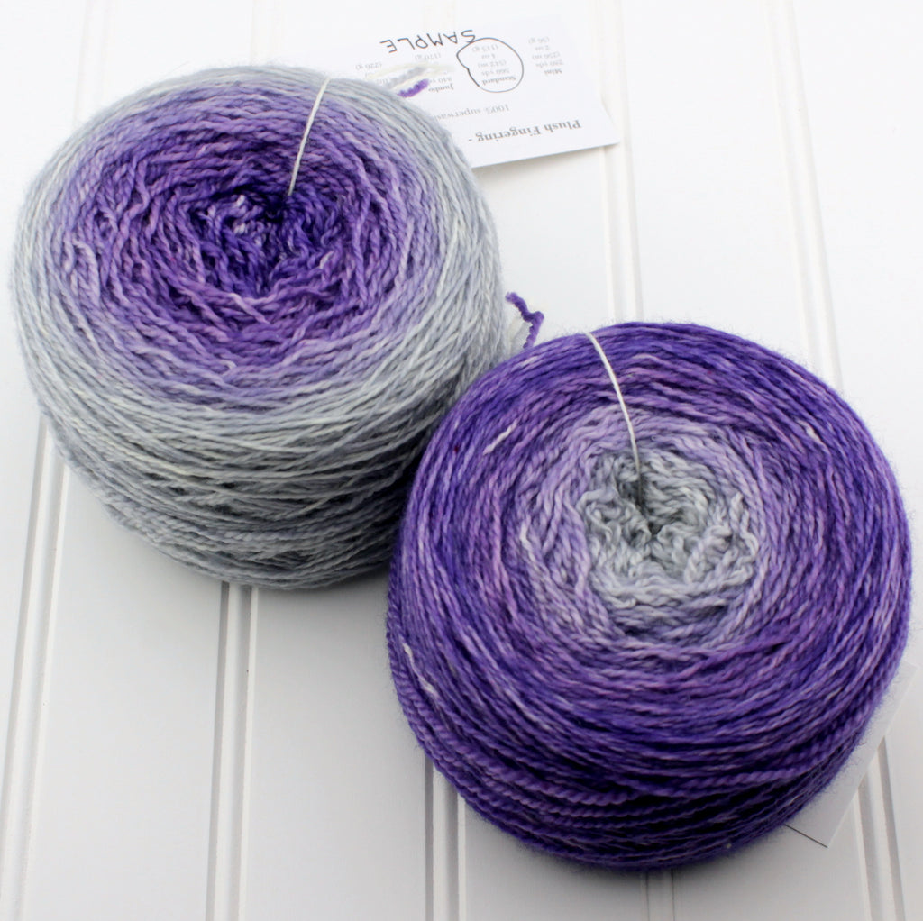 Plush Fingering Gradients - Jumbo (6 oz)