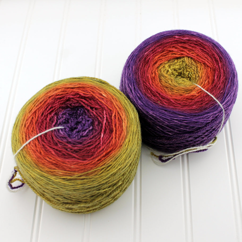 Plush Fingering Gradients - Standard (4 oz)