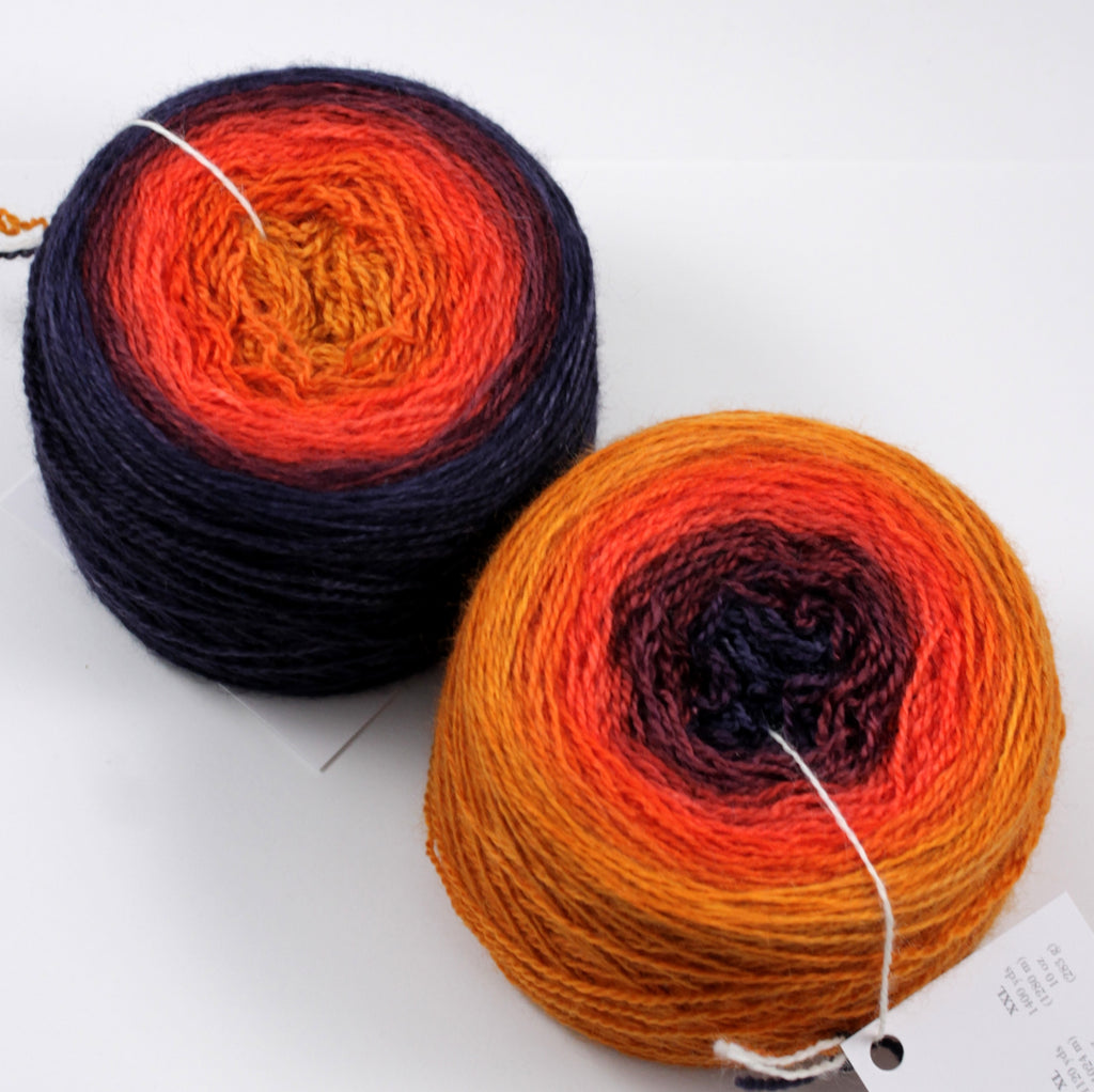 Luxe Fingering Gradients - Jumbo (6 oz)