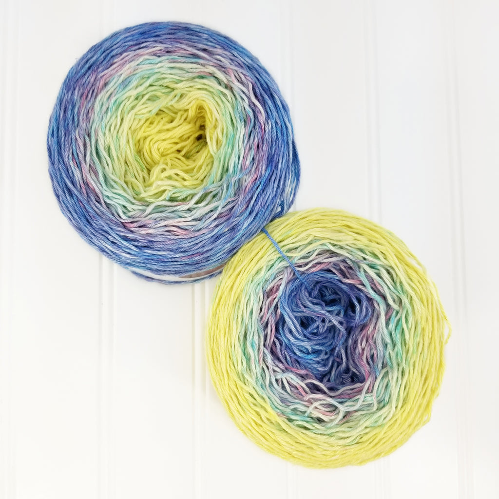 "Fiberworld 2020 Show Color ""United By Love"" - Silklin Sport (4 oz)"