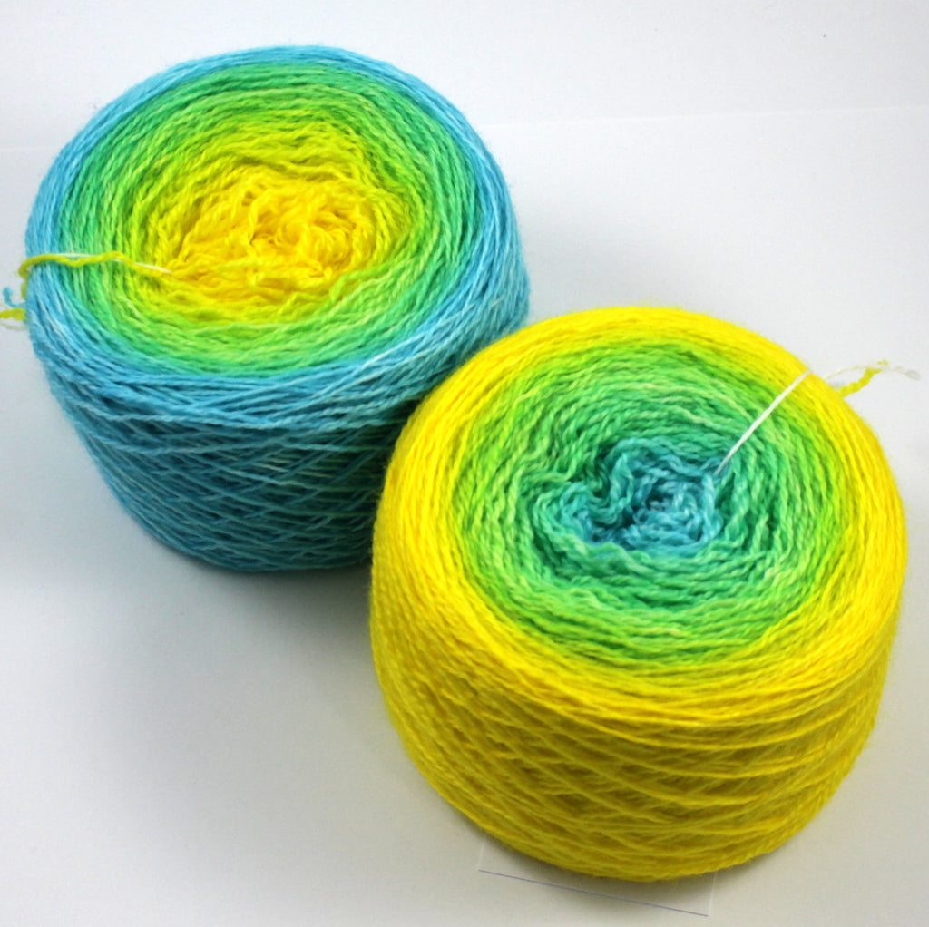 Silk Fingering Gradients - XL (200 g)