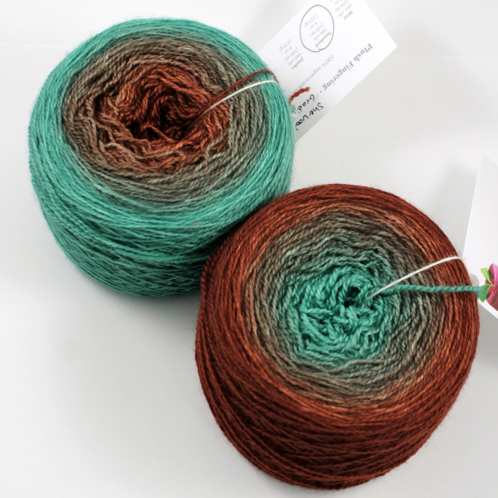 Copper Sock Gradients - Standard (100 g)