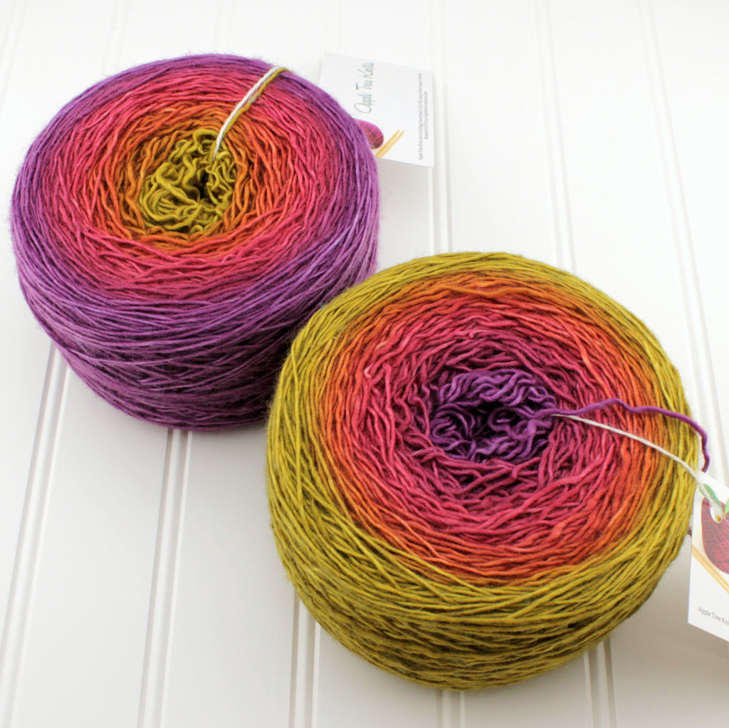 Groovy Fingering Gradients - XL (200 g)