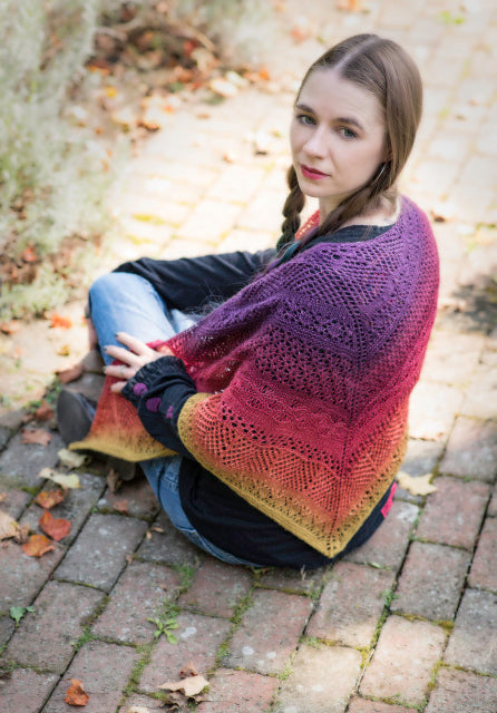 Awestruck Shawl - Kit