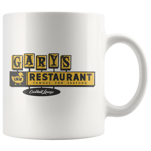 "The Gary's Duck Inn ""Jumbo Shrimp Platter"" Coffee Mug"