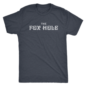 The Fox Hole Men's Tri-blend Tee