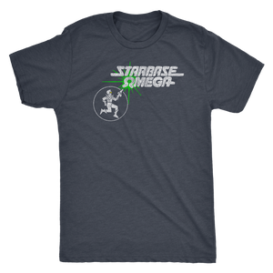 Retrolando The Starbase Omega Men's Tri-blend Tee