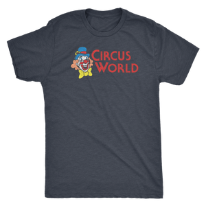 "The Circus World ""Showcase"" Men's Tri-blend Tee"