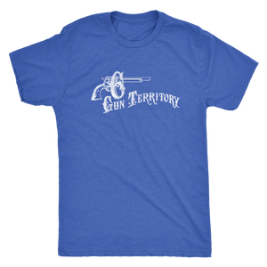 "The Six Gun Territory ""Iron Horse"" Men's Tri-blend Tee"