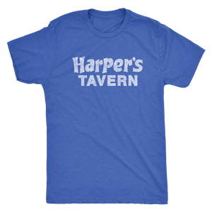 The Harper's Tavern Men's Tri-blend Tee