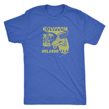 "The Coliseum ""Roller Follies"" Men's Tri-blend Tee"