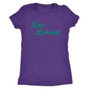 "The Lee's Lakeside ""Perfect View"" Women's Tri-blend Tee"