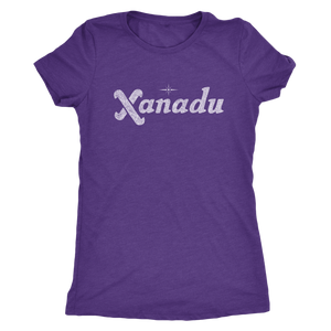 "The Xanadu ""Home of the Future"" Women's Tri-blend Tee"