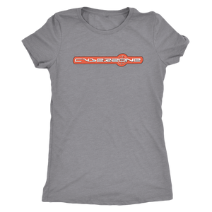 "The Cyberzone ""Blow Up"" Women's Tri-blend Tee"
