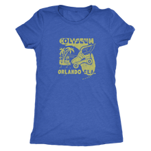 "The Coliseum ""Roller Follies"" Women's Tri-blend Tee"