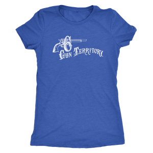 "The Six Gun Territory ""Iron Horse"" Women's Tri-blend Tee"