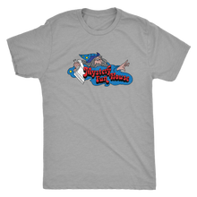 "Retrolando The Mystery Fun House ""Old School Wizard"" Men's Tri-blend Tee"