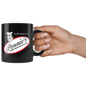 "The Ronnie's ""Matchbook"" Coffee Mug"