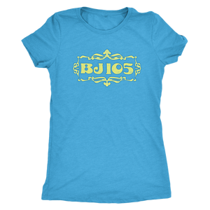 "The BJ105 ""BJW"" Women's Tri-blend Tee"