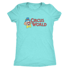 "The Circus World ""Showcase"" Women's Tri-blend Tee"