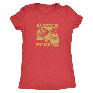 "The Coliseum Orlando ""Roller Follies"" Women's Tri-blend Tee"