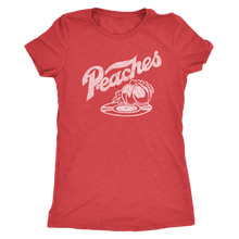 "The Peaches ""Record Crate"" Women's Tri-blend Tee"
