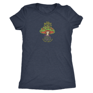 "The Infinite Mushroom ""Groovy"" Women's Tri-blend Tee"