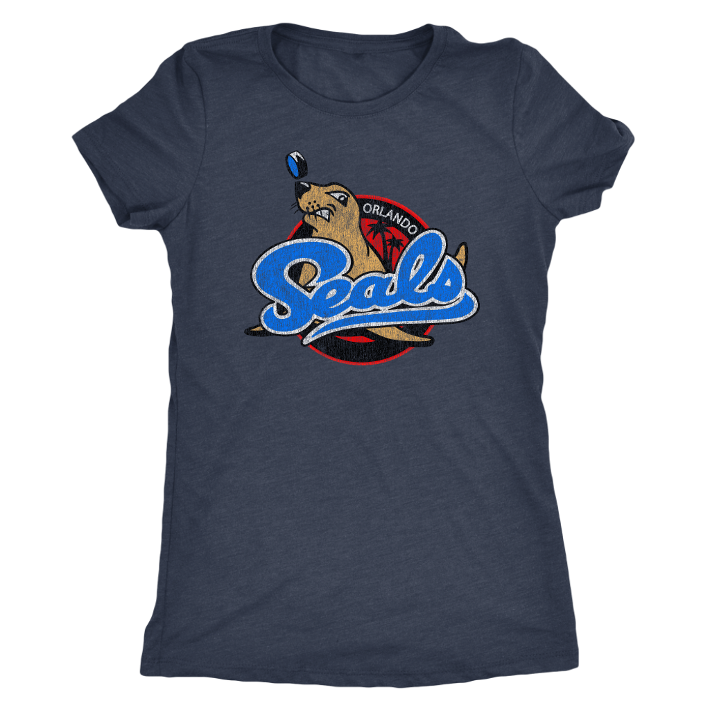 The Orlando Seals Women's Tri-blend Tee