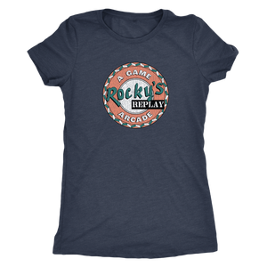 "The Rocky's Replay ""Insert Coin"" Women's Tri-blend Tee"