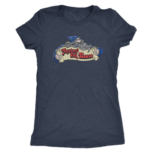 "The Mystery Fun House ""New School Wizard"" Women's Tri-blend Tee"