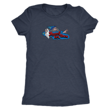 "The Mystery Fun House ""Old School Wizard"" Women's Tri-blend Tee"