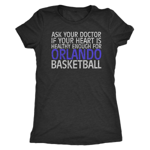 "The ""Orlando Basketball"" Women's Tri-blend Tee"