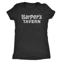 The Harper's Tavern Women's Tri-blend tee