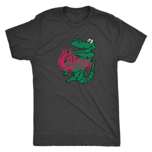 Retrolando The Al E Gators Men's Tri-blend Tee