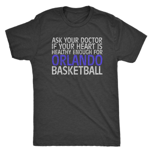 "The ""Orlando Basketball"" Men's Tri-blend Tee"