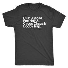 "Retrolando The ""Gentlemen's Club"" Men's Tri-blend Tee"