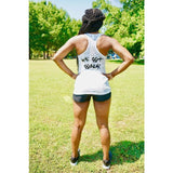 Women's YvY - You Vs Yourself + We Got Goals Burnout Racerback Tank (Two Colors)