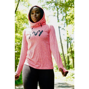 Women's YvY - You Vs Yourself + We Got Goals Cool Cowl Neck Top/Hoodie (Two Colors)